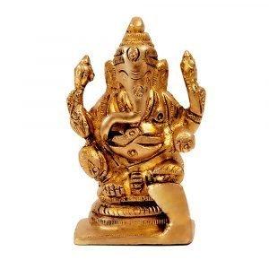 Brass-Vigrahaam-lord-ganesha